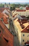 Παλαιά πόλη του Ρέγκενσμπουργκ Στοκ φωτογραφία με δικαίωμα ελεύθερης χρήσης