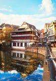 Παλαιά πόλη του Στρασβούργου, Γαλλία Στοκ φωτογραφία με δικαίωμα ελεύθερης χρήσης