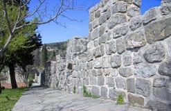 Παλαιά πόλη του φραγμού, Μαυροβούνιο Στοκ Φωτογραφίες