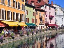 Παλαιά πόλη του Annecy, Γαλλία Στοκ Εικόνα