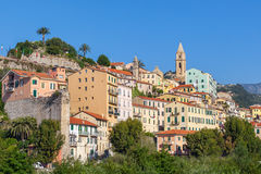 Παλαιά πόλη του ventimiglia, Ιταλία Στοκ εικόνα με δικαίωμα ελεύθερης χρήσης