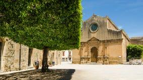 Παλαιά πόλη Castelvetrano, νησί της Σικελίας Στοκ Εικόνα