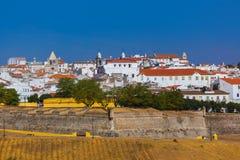 Παλαιά πόλη Elvas - Πορτογαλία Στοκ Εικόνες
