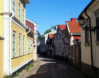 Παλαιά πόλη Gävle Στοκ εικόνα με δικαίωμα ελεύθερης χρήσης