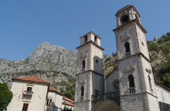 Παλαιά πόλη Kotor: Μαργαριτάρι του Μαυροβουνίου Στοκ εικόνα με δικαίωμα ελεύθερης χρήσης