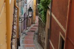 Παλαιά πόλη Menton Στοκ εικόνες με δικαίωμα ελεύθερης χρήσης