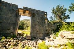 Παλαιά πόλη Olympos, Antalya Destrict, Τουρκία Στοκ φωτογραφία με δικαίωμα ελεύθερης χρήσης