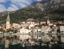 Παλαιά πόλη perast στο Μαυροβούνιο Στοκ Εικόνες