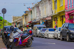 Παλαιά πόλη Phuket Στοκ Εικόνες