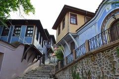 Παλαιά πόλη Plovdiv, Βουλγαρία Στοκ εικόνες με δικαίωμα ελεύθερης χρήσης