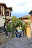 Παλαιά πόλη Plovdiv, Βουλγαρία Στοκ Φωτογραφία
