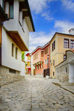 Παλαιά πόλη Plovdiv στην ηλιόλουστη ημέρα, Βουλγαρία Στοκ εικόνα με δικαίωμα ελεύθερης χρήσης