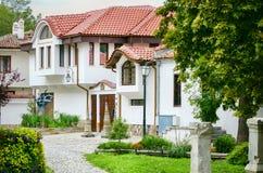 Παλαιά πόλη Plovdiv στην ηλιόλουστη ημέρα, Βουλγαρία Στοκ Φωτογραφία
