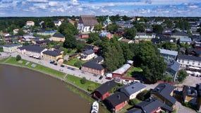 Παλαιά πόλη Porvoo Στοκ εικόνες με δικαίωμα ελεύθερης χρήσης