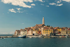 Παλαιά πόλη Rovinj στην Κροατία Στοκ εικόνες με δικαίωμα ελεύθερης χρήσης