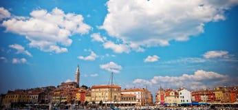 παλαιά πόλη rovinj της Κροατίας Στοκ φωτογραφία με δικαίωμα ελεύθερης χρήσης