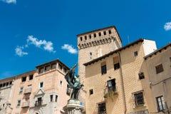 Παλαιά πόλη, Segovia Στοκ Εικόνες