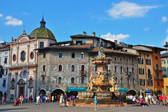 Παλαιά πόλη Trento, Ιταλία Στοκ φωτογραφία με δικαίωμα ελεύθερης χρήσης