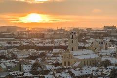 Παλαιά πόλη Vilnius Στοκ Εικόνα