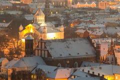 Παλαιά πόλη Vilnius Στοκ εικόνα με δικαίωμα ελεύθερης χρήσης