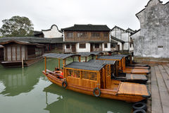 Παλαιά πόλη Wuzhen, Κίνα Στοκ Φωτογραφίες