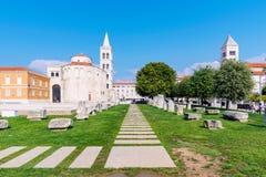 Παλαιά πόλη Zadar Στοκ Εικόνες