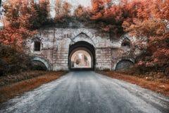 Παλαιά πύλη αψίδων Στοκ Εικόνες
