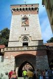 Παλαιά πύλη πόλεων στην Κρακοβία Πολωνία Στοκ φωτογραφία με δικαίωμα ελεύθερης χρήσης