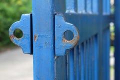 Παλαιά πύλη hasp Στοκ φωτογραφίες με δικαίωμα ελεύθερης χρήσης