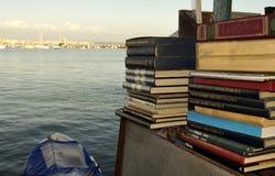 παλαιά πώληση βιβλίων Στοκ εικόνες με δικαίωμα ελεύθερης χρήσης