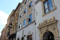 Παλαιά πλατεία της πόλης Ευρώπη της Βαρσοβίας περιοχής πόλεων της Ευρώπης Πολωνία Βαρσοβία παλαιά Στοκ φωτογραφίες με δικαίωμα ελεύθερης χρήσης