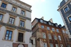 Παλαιά πλατεία της πόλης Ευρώπη της Βαρσοβίας περιοχής πόλεων της Ευρώπης Πολωνία Βαρσοβία παλαιά Στοκ φωτογραφία με δικαίωμα ελεύθερης χρήσης