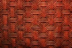 παλαιά πλεγμένη κόκκινη σύσταση τοίχων Στοκ εικόνες με δικαίωμα ελεύθερης χρήσης