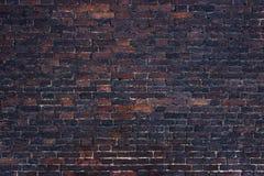 Παλαιά πλινθοδομή, ο τοίχος υποβάθρου των κόκκινων φραγμών Στοκ φωτογραφία με δικαίωμα ελεύθερης χρήσης