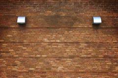 Παλαιά πλινθοδομή, ο τοίχος υποβάθρου των κόκκινων φραγμών Στοκ Φωτογραφίες