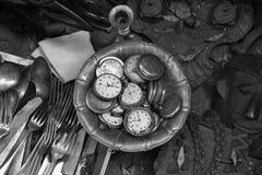 παλαιά ρολόγια τσεπών Στοκ Φωτογραφίες