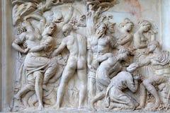 Παλαιά ρωμαϊκή ανακούφιση, Φλωρεντία, Ιταλία Στοκ εικόνα με δικαίωμα ελεύθερης χρήσης