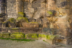 Παλαιά ρωμαϊκή χτίζοντας Nigra Porta πόλη Μοζέλλας της Τρίερ Στοκ Εικόνες