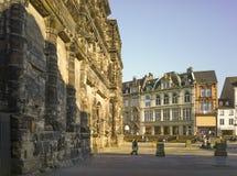 Παλαιά ρωμαϊκή χτίζοντας Nigra Porta πόλη Μοζέλλας της Τρίερ Στοκ φωτογραφία με δικαίωμα ελεύθερης χρήσης