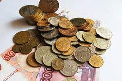 Παλαιά ρωσικά χρήματα Στοκ Φωτογραφίες