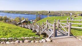 Παλαιά ρωσική πόλη Ples Ρωσία Στοκ φωτογραφία με δικαίωμα ελεύθερης χρήσης