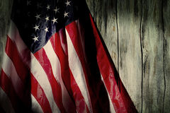Παλαιά σημαία των Ηνωμένων Πολιτειών Στοκ Εικόνες