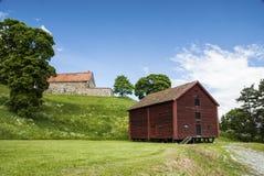 Παλαιά σιταποθήκη ύφους Στοκ εικόνες με δικαίωμα ελεύθερης χρήσης