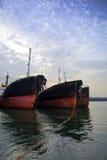 Παλαιά σκάφη Στοκ Εικόνες