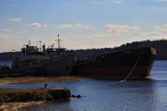 παλαιά σκάφη Στοκ Φωτογραφία