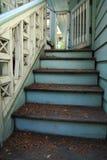 Παλαιά σκάλα υπαίθρια, ταϊλανδικό ύφος στο παλάτι phayathai Στοκ Φωτογραφία
