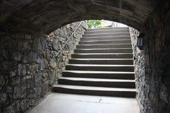 παλαιά σκαλοπάτια Στοκ Φωτογραφία