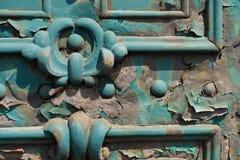 Παλαιά σκουριά πορτών metall στις οδούς της Βουδαπέστης Ουγγαρία Στοκ φωτογραφίες με δικαίωμα ελεύθερης χρήσης
