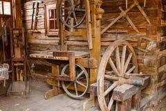 Παλαιά σκουριασμένα εργαλεία ξυλουργικής Στοκ Εικόνα