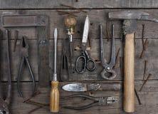 παλαιά σκουριασμένα εργαλεία Στοκ εικόνες με δικαίωμα ελεύθερης χρήσης